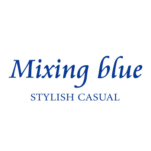 Mixing blue